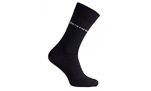 10 Paar Pierre Cardin Socken Herrensocken Baumwolle Business Socken Schwarz Größe 39-42 od. 43-46 (43-46)