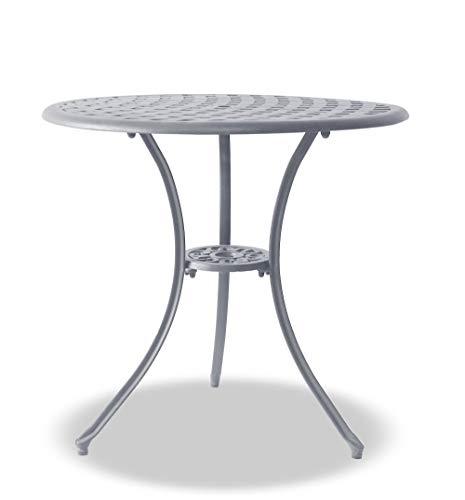 Centurion Supports OSHOWA Garden & Patio Grey Cast Aluminium Bistro Table
