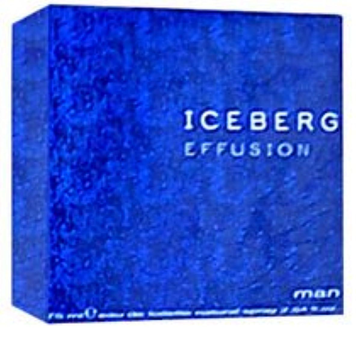 変更可能見捨てる足音Iceberg Effusion (アイスバーグ エフゥージョン)  2.5 oz (75ml) EDT Spray for Men