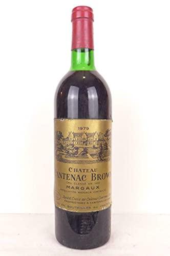 margaux château cantenac brown grand cru classé rouge 1979 - bordeaux
