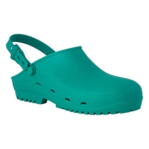 REPOSA MAX Zuecos Sanitarios, Zapatos Sanitarios Tipo Zueco, polímero Natural...