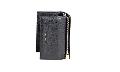 Coccinelle Metallic Soft Geldbörse Leder 14 cm