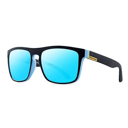 ShZyywrl Gafas De Sol De Moda Unisex Gafas De Sol Polarizadas Clásicas para Hombre, Gafas De Sol para Conducir, Gafas Cuadradas Retro, Gafas Uv400, Gafas 05