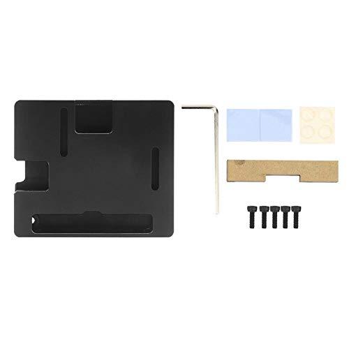Raspberry Pi 3 A+ Case, Raspberry Pi Heatsink Case for Raspberry Pi 3A+, Pi 3 Model A+, Black