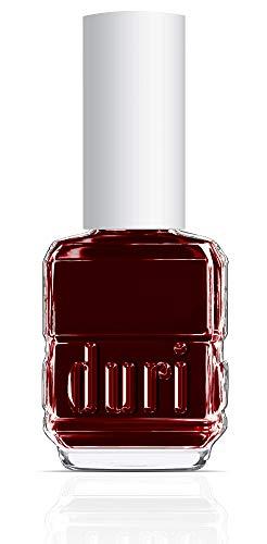 Duri Nail Polish, 731 Aries, Deep Burgundy Red Opaque Coverage, 0.5 fl.oz.