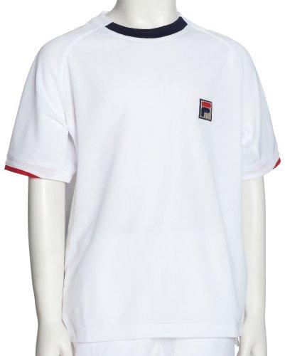 FILA Kinder Tennis T-Shirt, White, XL, UA00054100