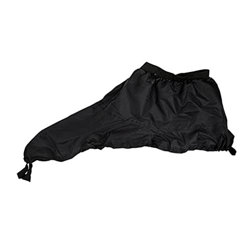 LLDDSS Falda a pulverización Impermeable Cubierta de la Cubierta SpraySkirt Cubierta de la Cabina Universal para la Canoa de Kayak (Color : XL)