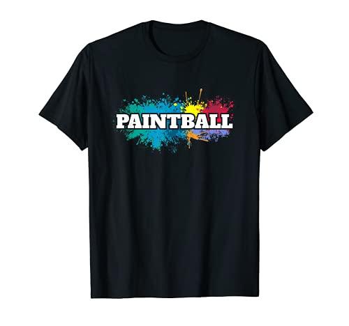 Marcadores de paintball estilo vintage Camiseta