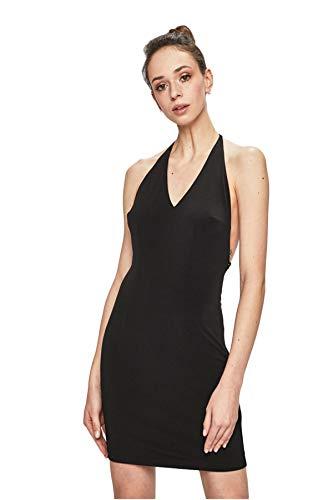 Guess Monia Dress Vestido de Fiesta, Negro (Jet Black A996 Jblk), Medium para Mujer