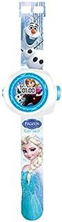 3D  Frozen Elsa Princess Projection Watch Baby cartoon Digital Children Watches Boy Girl Clock Timepiece