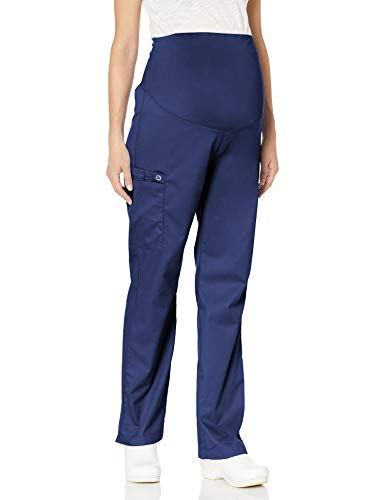 WonderWink Women's Wonderwork Maternity Pant, Navy, Small