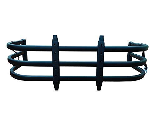 TKMAUTO Black Aluminum Pickup Truck Bed Extender Retractable Tailgate Extension for Full-Size Trucks