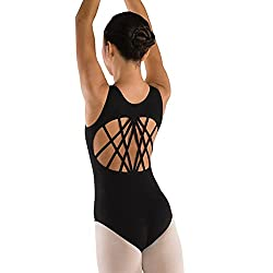 Danz N Motion Youth Perfect 10 Ten Multi Strap Back Leotard