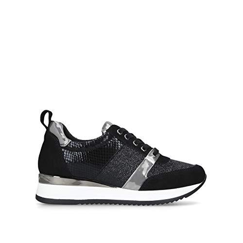 Carvela Damen Justified Sneaker, Schwarz, 39 EU
