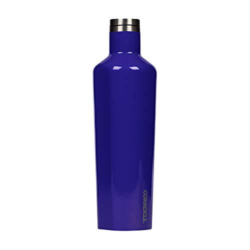 Corkcicle Classic Canteen 25 Oz Acai Berry Unisex geïsoleerde fles grootte OS UK
