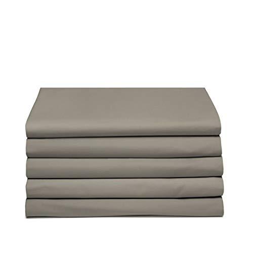 Cendrillon Drap Housse Uni, Coton, taupe, 200x260