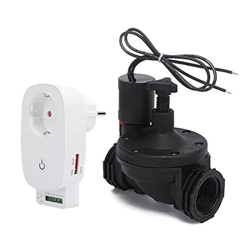 Temporizador De Agua Programable, Temporizador Automático De Riego Por Aspersión Material Premium Duradero Para Aplicaciones Inteligentes Para Agricultura