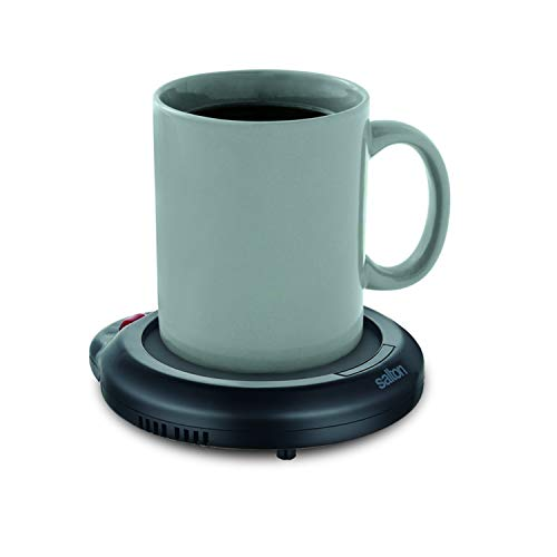 Salton Coffee Mug & Tea Cup Warmer for Office Desk Use, Electric Beverage Warmer with Automatic...