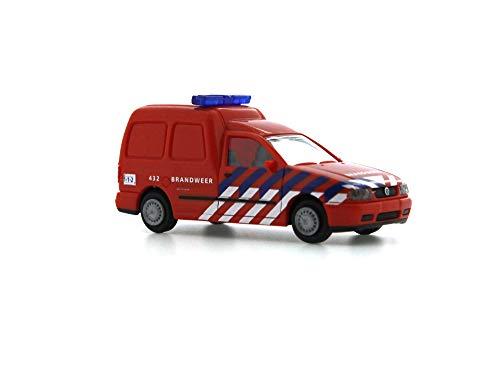 Reitze 50848 Rietze Volkswagen Caddy Box Brandweer Amsterdam (Nl) 1:87 H0, meerkleurig