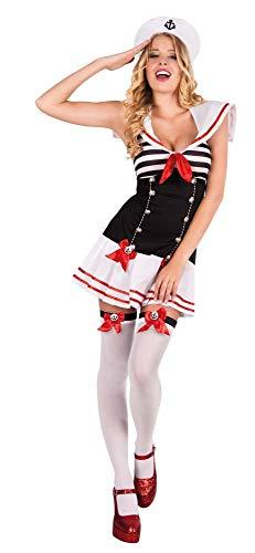 Boland 83613 Costume de Marin pour Adulte Taille 40/42