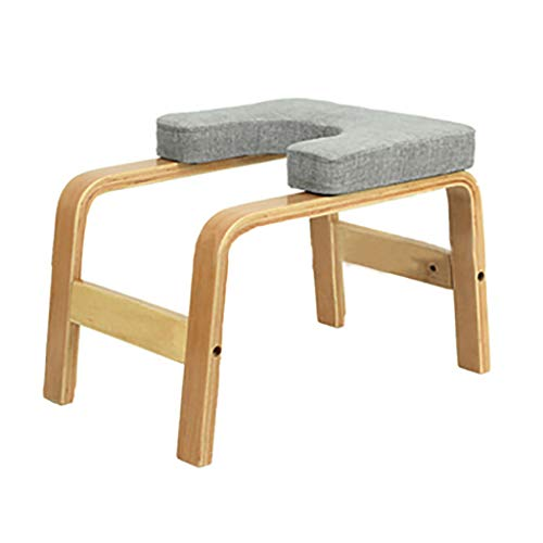 Best Review Of Wooden Yoga Inverted Stool, Multi-Functional Fitness Chair, Home Yoga Auxiliary Stool...