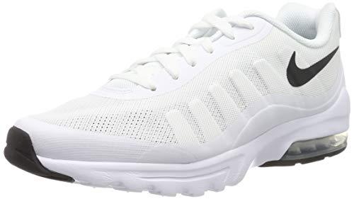 Nike Herren Air Max Invigor Laufschuhe, Weiß (White/Black 100), 44 EU