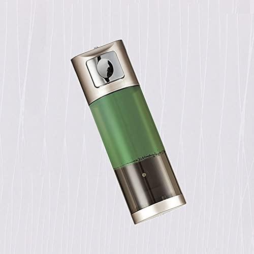 TBSHX Dispensador jabon Cristal, dispensador jabon Pared dosificador Gel hidroalcoholico Dispensador de jabón líquido Pared, Prueba de Agua,Cocina y baño del hogar(Oro) (Color : Punch-Free)