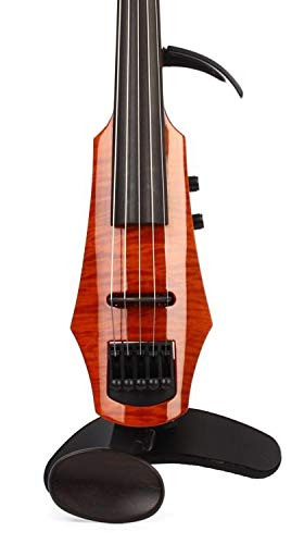 NS Design WAV-5 Electric 5-String Amber Burst Violin with Hard Case