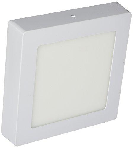 LYO downlight lED surface carré intégré, blanc, 17 x 3.5 cm