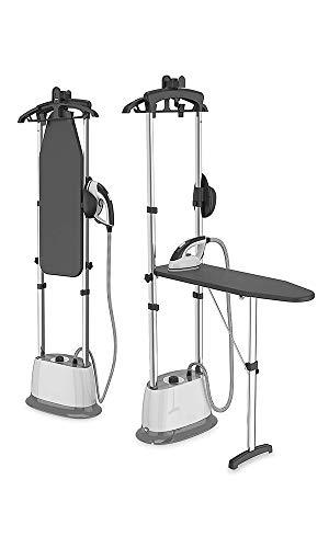 Stiratrice verticale 2200 W, 4 Bar, Portata di vapore: 50 g/min, dotata di un asse da stiro per offrire un dispositivo 2 in 1