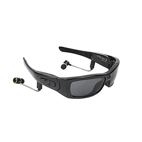 SXFENG Gafas De Cámara Gafas De Sol Estéreo Bluetooth Gran Angular 120 Grados 1080P Gafas Digitales De Alta Definición, Adecuadas para Actividades Al Aire Libre, Ciclismo, Esquí