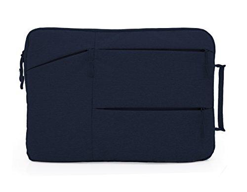 MyGadget 13-13,3 Zoll Laptoptasche Schutzhülle Laptop Sleeve Tasche - mit weichen Inlay - Notebook Hülle für u.a. Apple MacBook Air/Pro - Blau