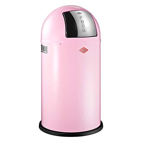 Wesco 175 831 Pushboy Abfallsammler 50 Liter Pink