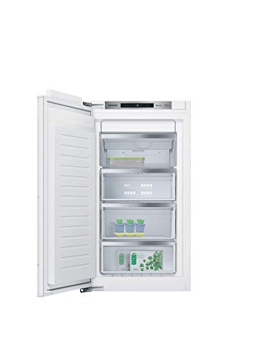 Siemens GI31NACE0 iQ500 Einbau-Gefrierschrank / A++ / 168 kWh/Jahr / 97 l / noFrost / softClosing Tür