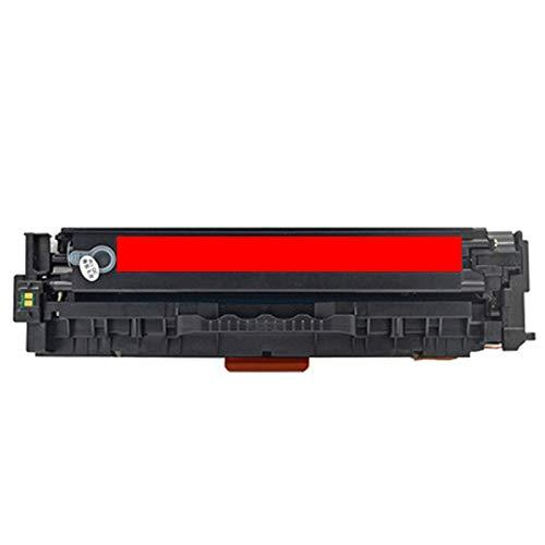 AXAX Compatible con HP CC530A Cartucho de tóner de repuesto para HP Color Laserjet CP2025 2025N 2026 2026N Impresoras Equipo de Oficina Impresión HD Permanente Profesional Magenta