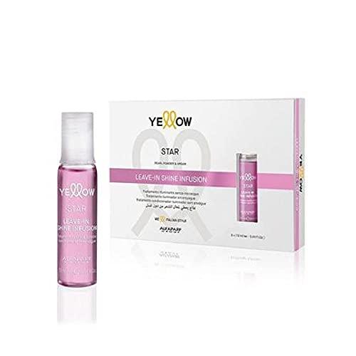 Leave-In Shine Infusion - Traitement lumineux, sans rinçage, 6 x 13 ml, jaune (Alfaparf Group)