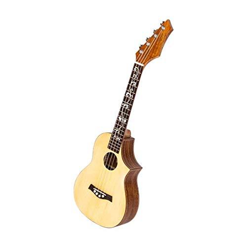 """SISHUINIANHUA Glarry UK603 26\"""" Tenor Unfilled Corner Fichte Frontplatte mit Acacia Rücken und Seitenverkleidung Ukulele Holz Farbe"""