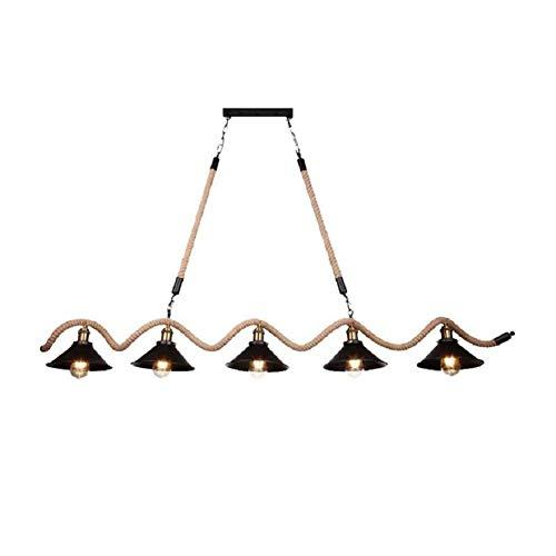 Jie Kandelaar-bar-persoonlijkheids-industrie-retro-art-lamp, multifunctionele ijzeren lamp, kandelaar kunnen voor binnen- en openbare plaatsen, (zonder lichtbron) worden aangepast, drie koppen