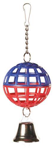 Trixie 5250 Gitterball mit Kette und Glocke, 7 cm