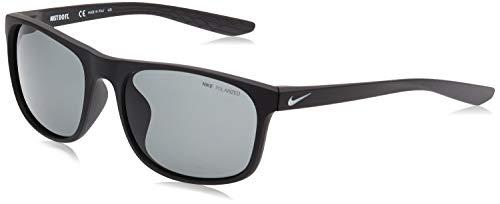 Nike CW4647-010 Endure P Occhiali Da Sole Nero Opaco Colore Montatura, Grigio Lenti Polarizzate Tint