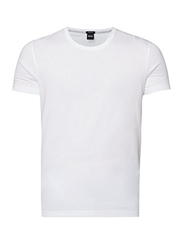 BOSS Stretch T-shirt met ronde hals