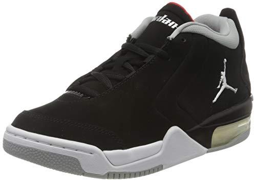 Nike Jordan Big Fund (GS), Sneaker a Collo Alto Unisex-Adulto, Nero (Black/Metallic Silver/White 001), 36.5 EU