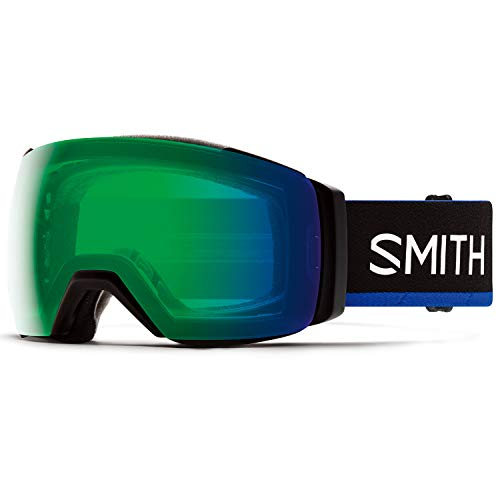 Smith I/O MAG XL Asian Fit Snow Goggle - Smith X The North Face/Blue | Chromapop Everyday Green...