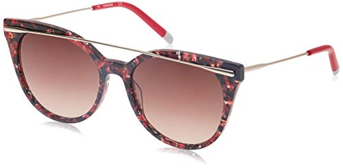 Calvin Klein Ck4362S 617 54 brilframe, rood (Red Marmerle), dames