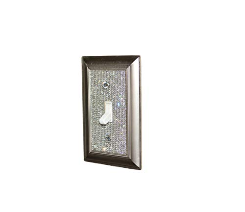 Classy Bling Rhinestone Wall Plate Cover (Single Toggle)