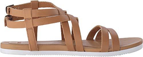 Teva Avalina Crossover Leather W's Damen Sport- & Outdoor Sandalen, Beige (tan 831), EU 42