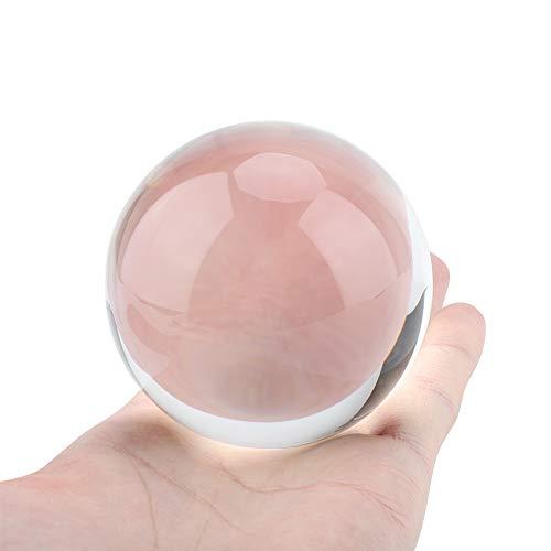 100 ml clair cristal boule de verre sphère Febgshui cadeau de décoration de bureau à domicile pour boule décorative, photographie de Lensball, divination étourdissante ou Feng Shui et boule de bonne a