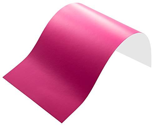 Neoxxim 3,77€/m² Plotterfolie 26 MATT -NEON PINK ROSA - 30 x 106 cm Deko Folie Klebe Folie Möbelfolie Wandtattoo Folie selbstklebend