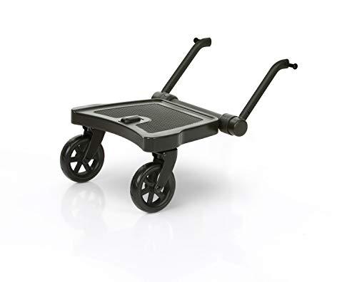 Set ABC Design Trittbrett Kiddie Ride On 2 mit Stoffwindel von Kinderhaus Blaubär | Mitfahrbrett universal passend | Rollbrett für Kinderwagen Buggy bis 20 kg, Größe:Trittbrett