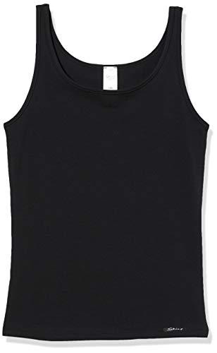 Skiny Mädchen Tank Top Cotton Experience, Schwarz (Black 7665), 164